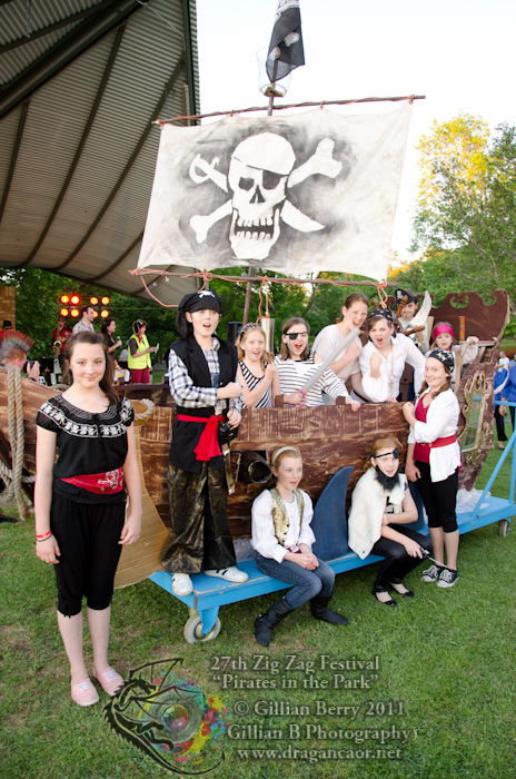 The Crew of the Pirate Ship Kalamunda 2011
